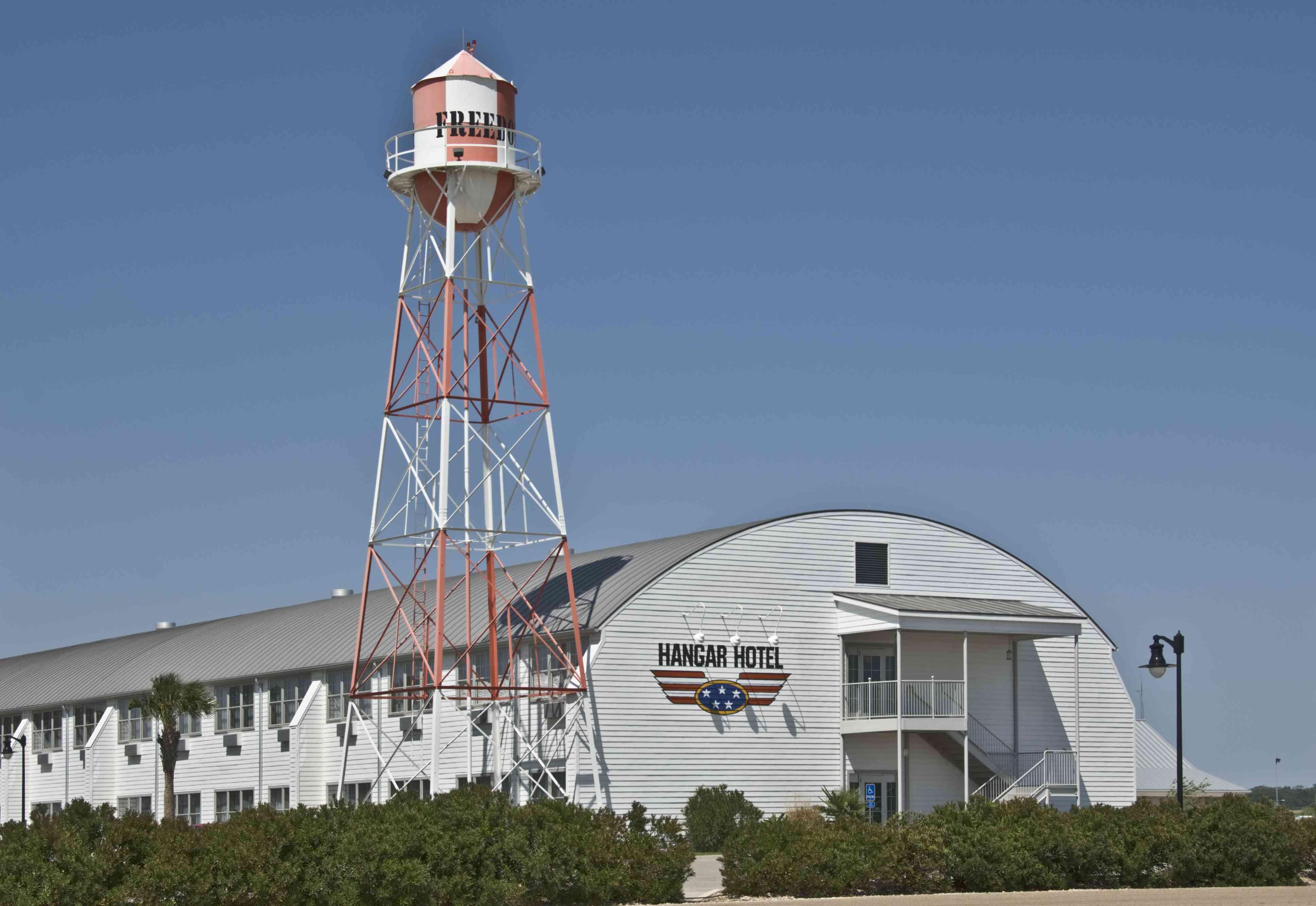 Hangar Hotel in Fredericksburg, Texas