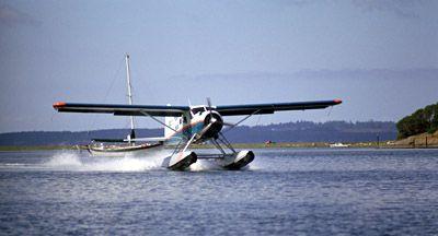 Sea Plane Landing