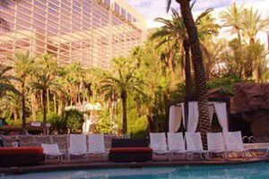 Swimming pool at the Flamingo Hotel in Las Vegas