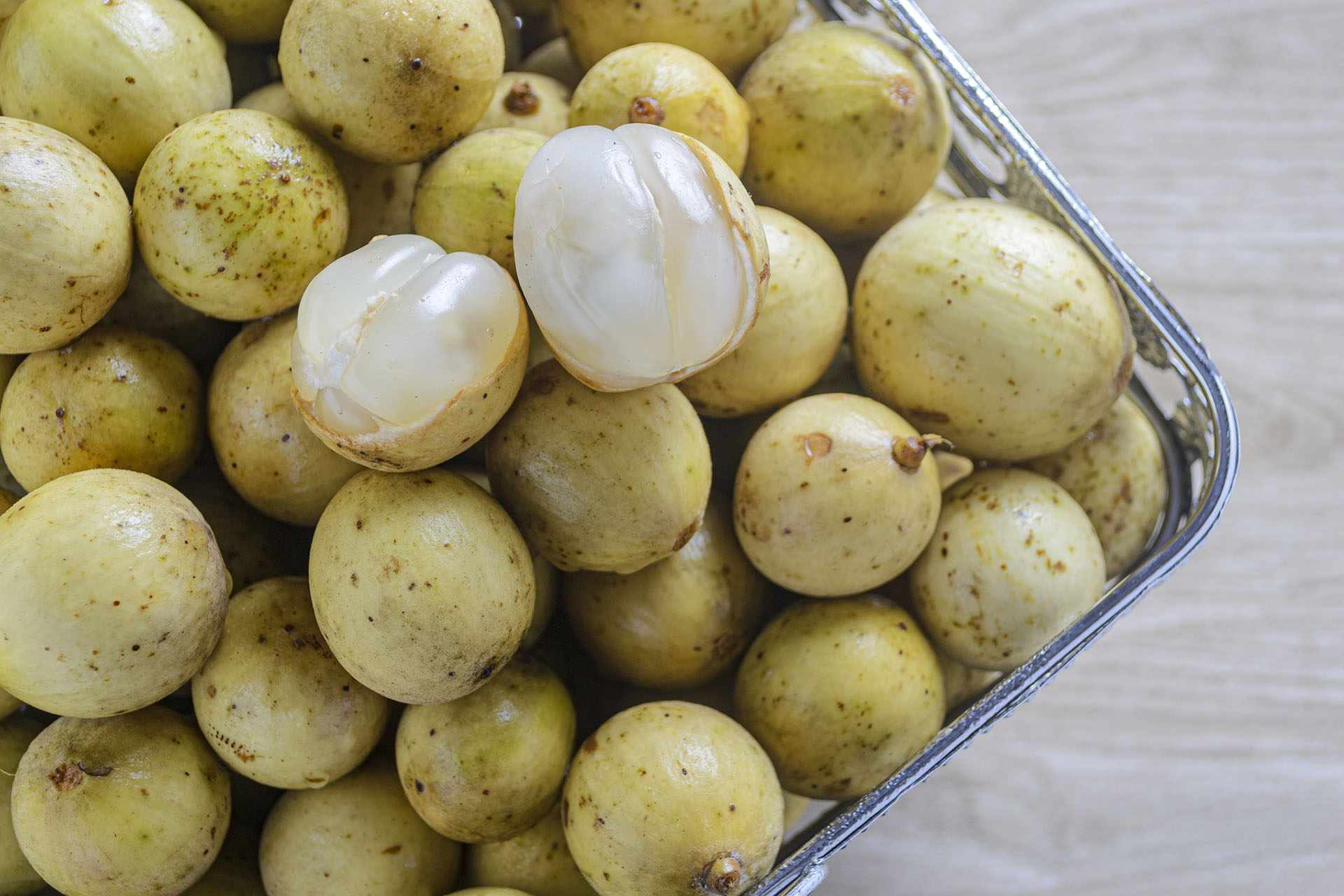 Lanzones (langsat) fruit