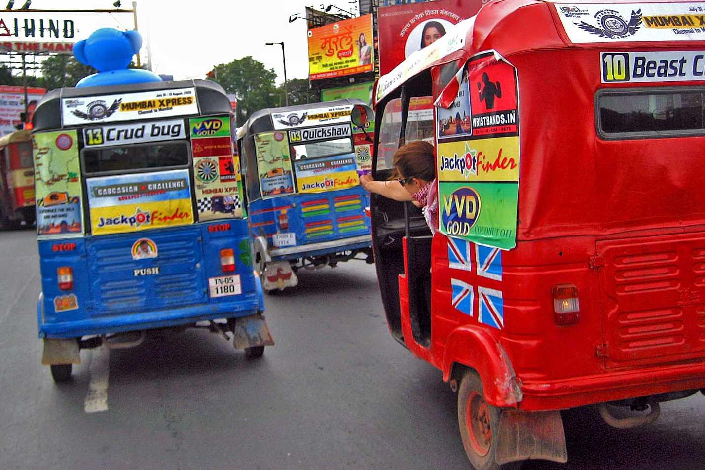 Auto Rickshaw Challenge.