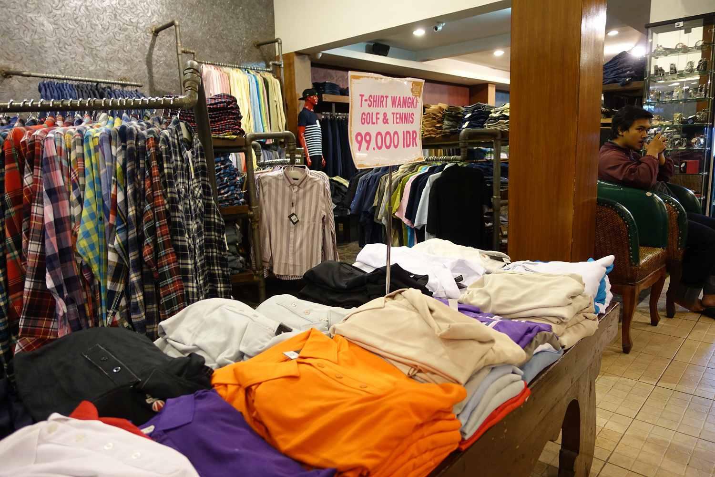 Cheap clothes for sale, Secret Factory Outlet, Bandung