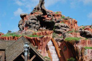 Magic Kingdom spash mountain