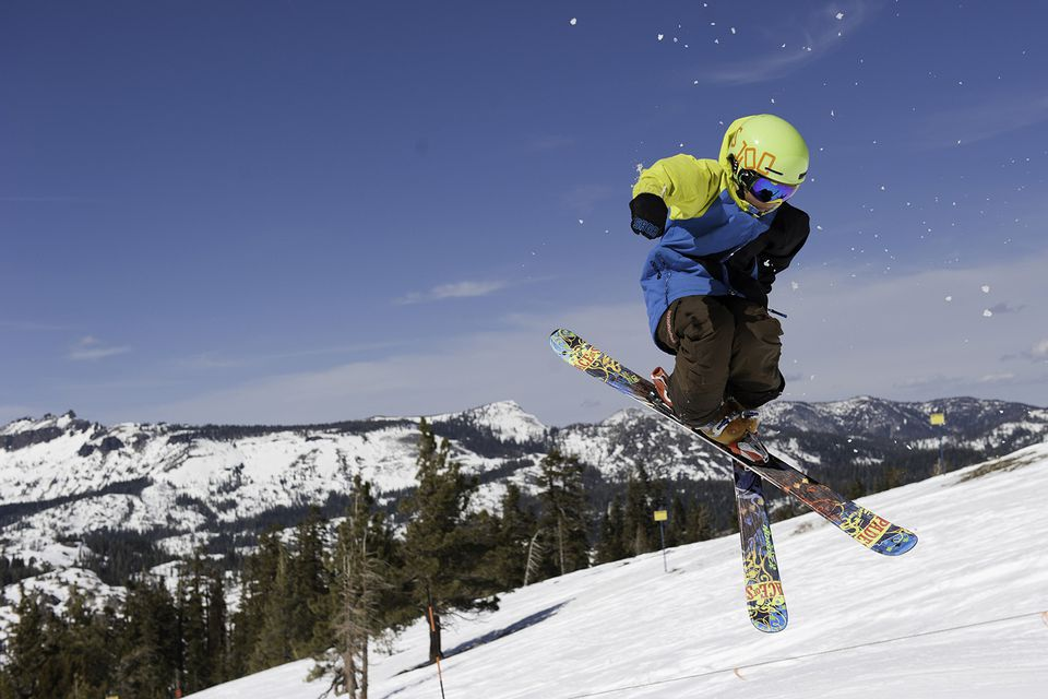 December is a Good Time for Skiing in California