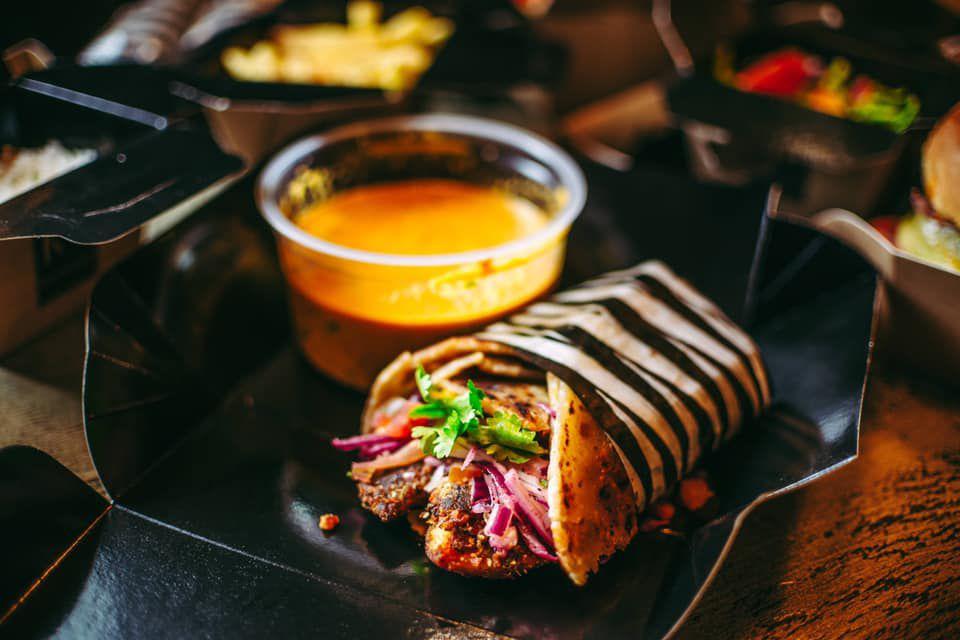 Chapati wraps