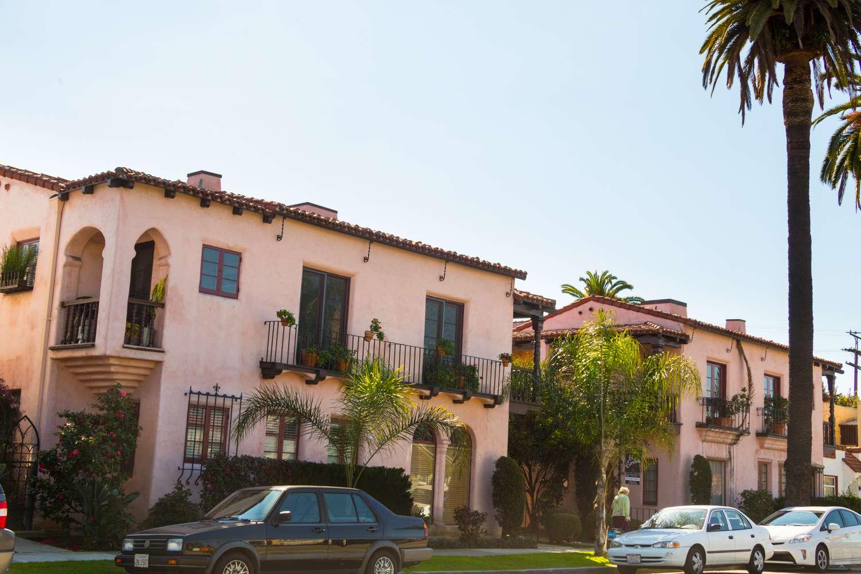 Mia's Apartment Building in La La Land