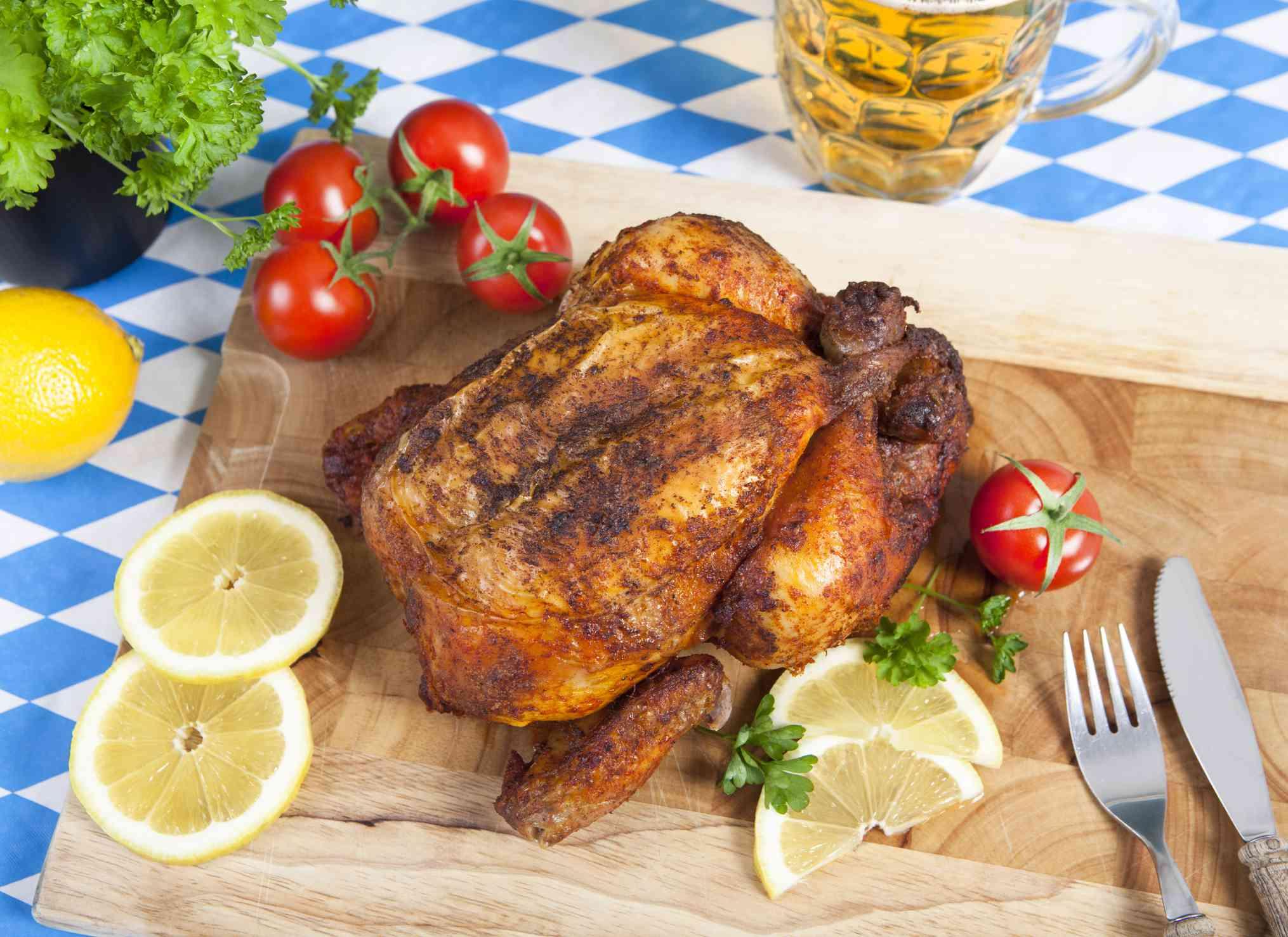 Bayerische Roast Huhn (Bavaria Roast Chicken)