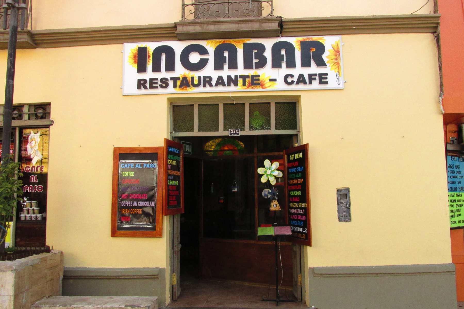 Inca Bar in Puno, Peru