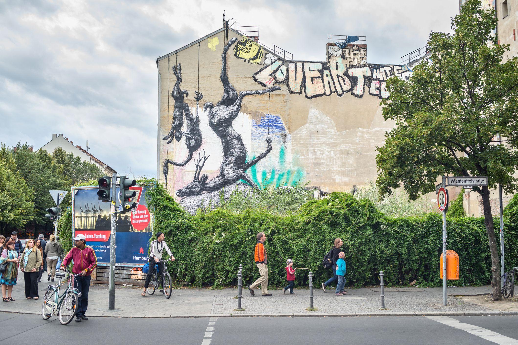 Berlin Street art by ROA