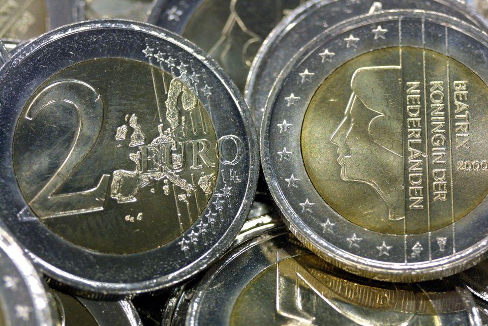 Monedas de euro holandesas