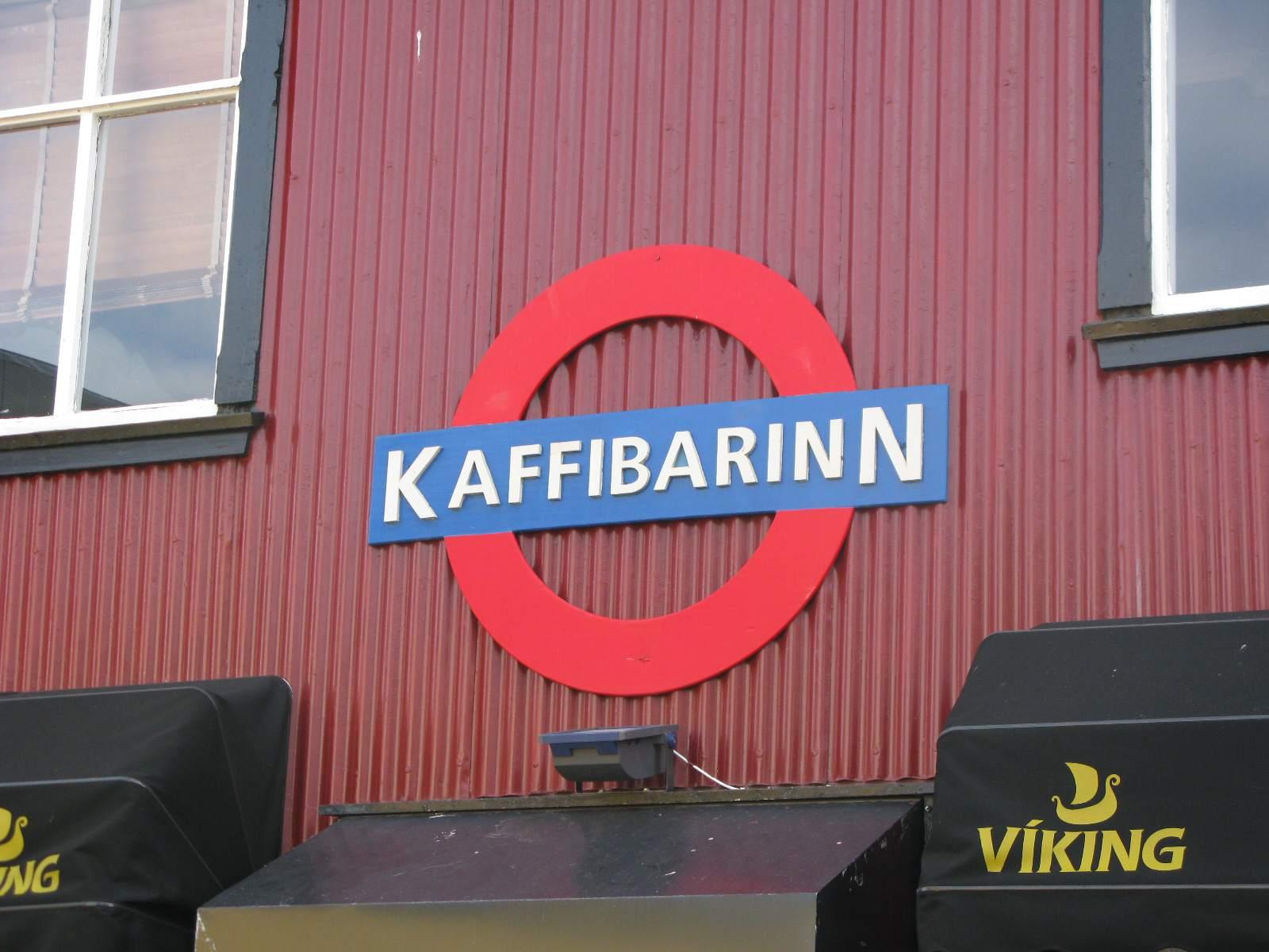 Kaffibarinn, Reykjavik Iceland