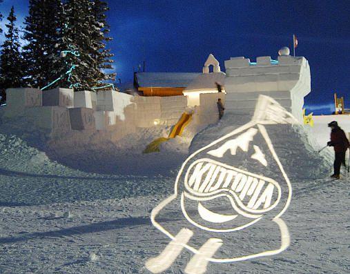 Kidtopia Snow Fort at Keystone Ski Resort. Photo courtesy of Vail Resorts.