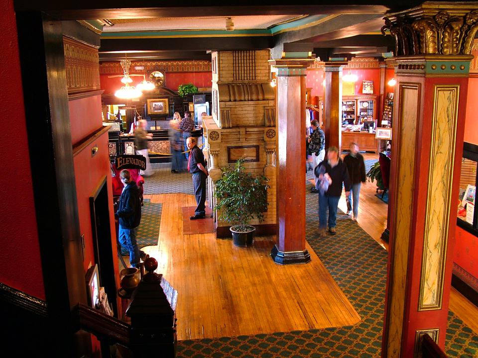 The Crescent Hotel S Lobby