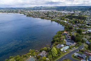 Rotorua Aerial View
