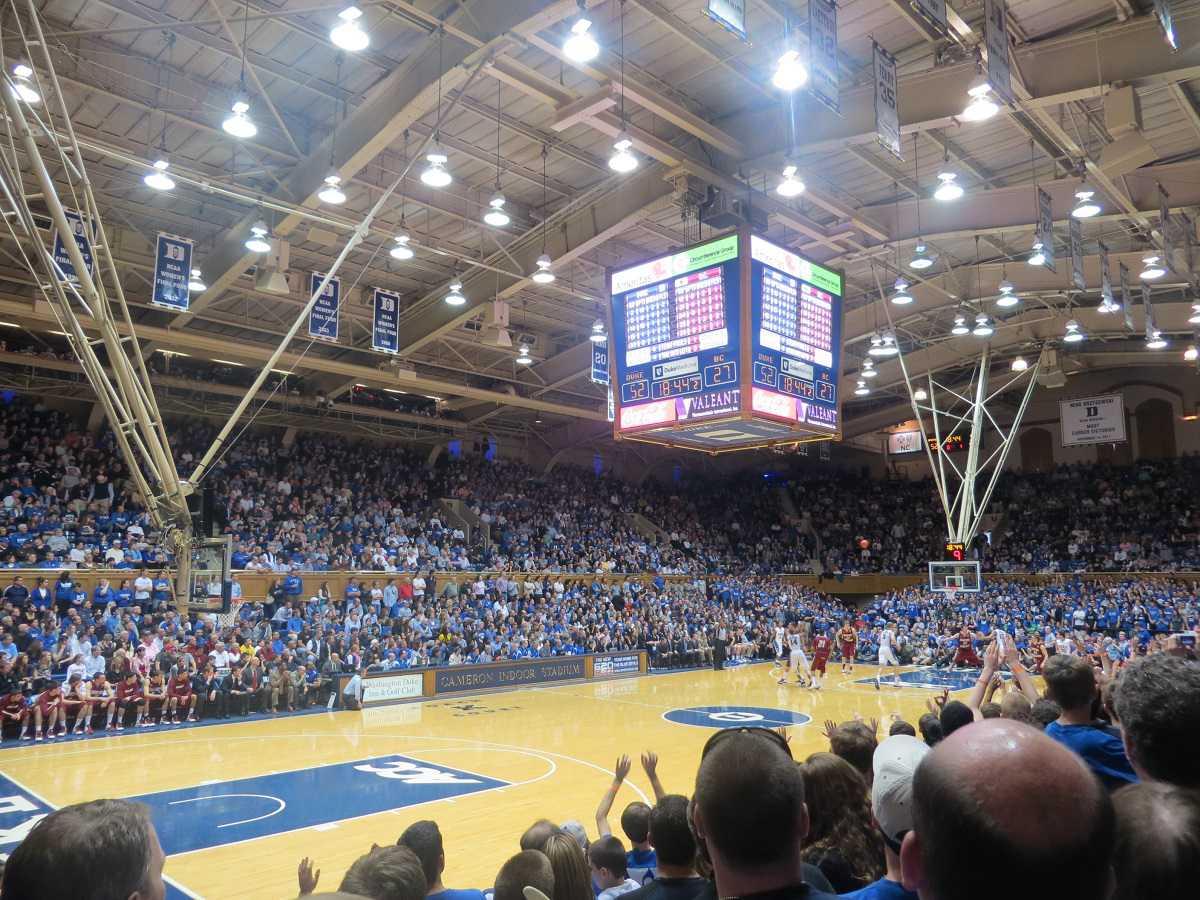 Duke vs. Boston College at Cameron Indoor Stadium