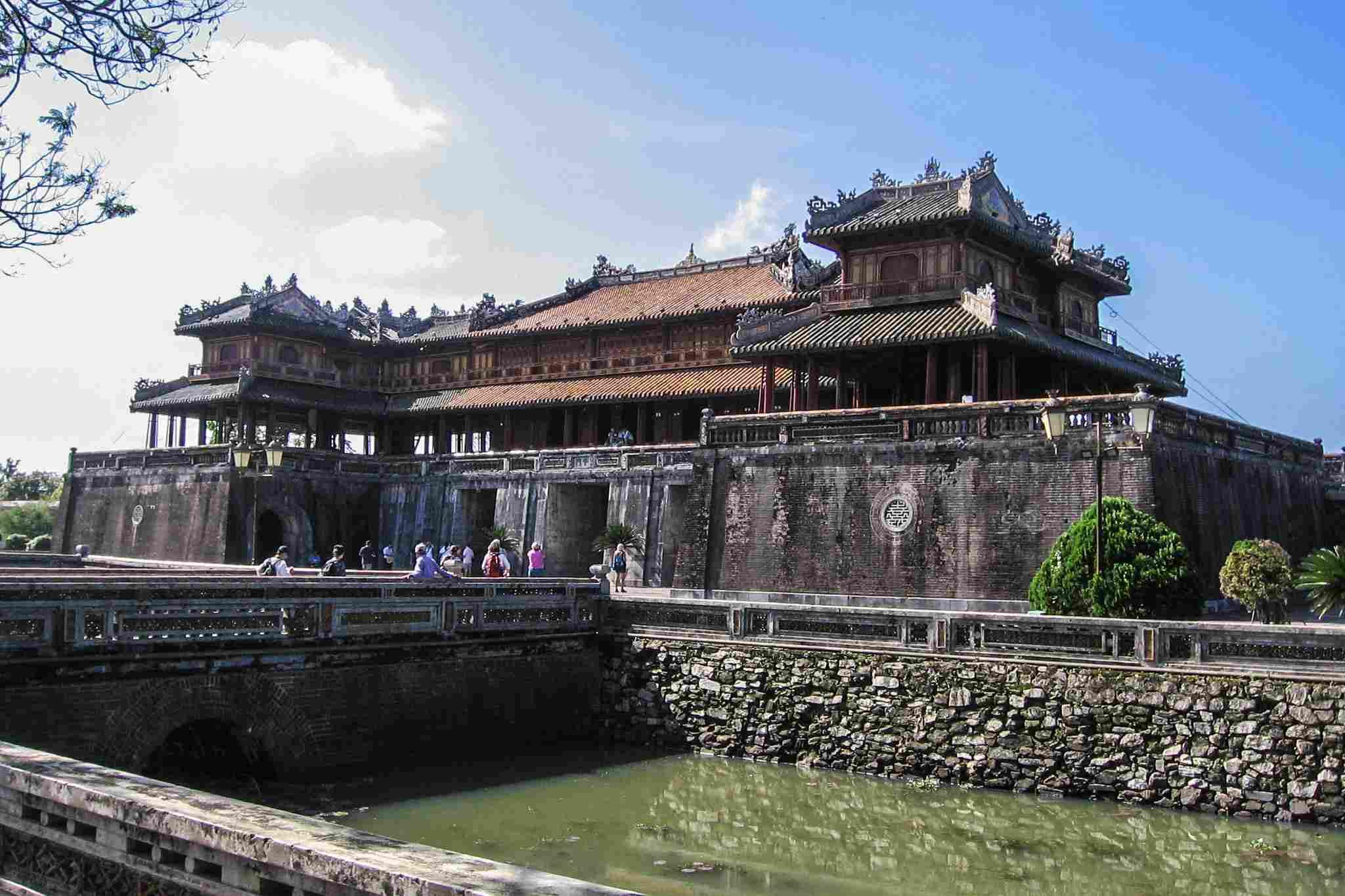 Ngo Mon Gate - Entryway into Hue Citadel, Vietnam.