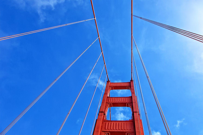 Golden Gate Bridge as Viewed Through the Sunroof