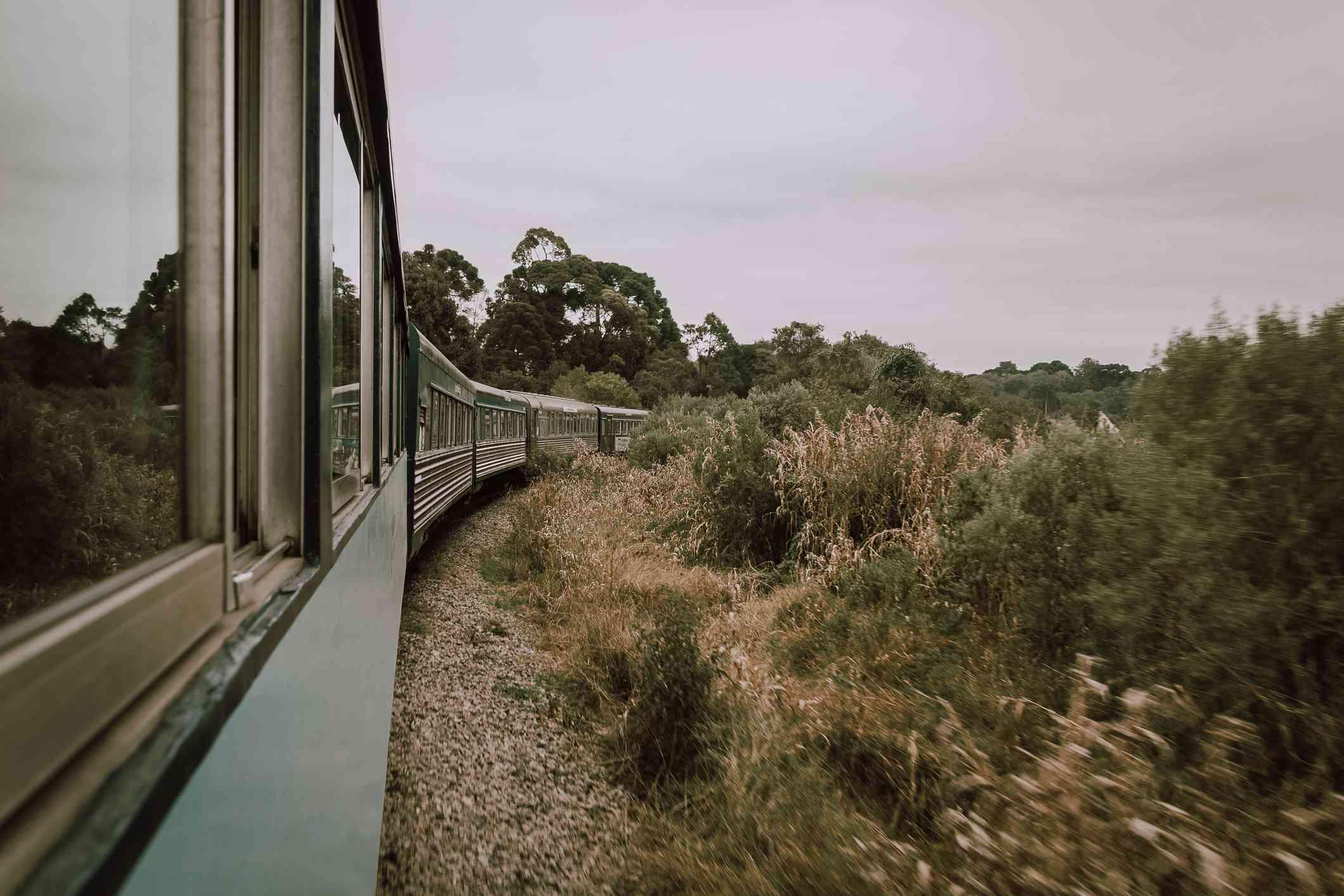 Tren desde Curitiba