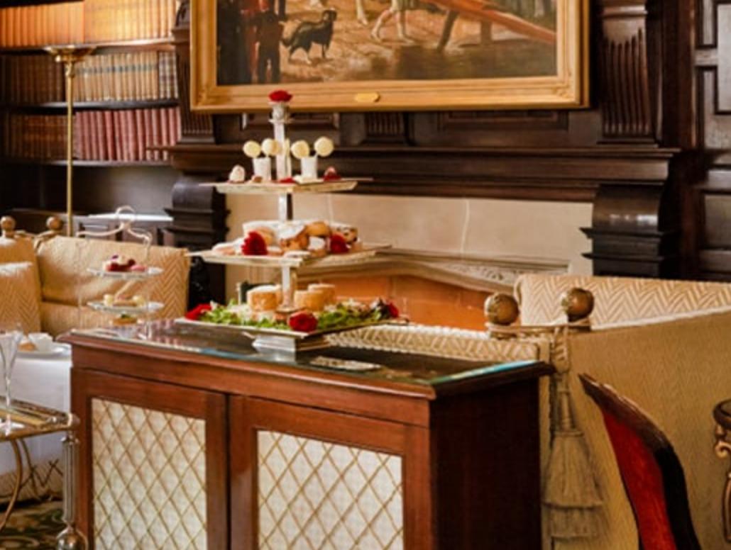 Milestone Hotel tea
