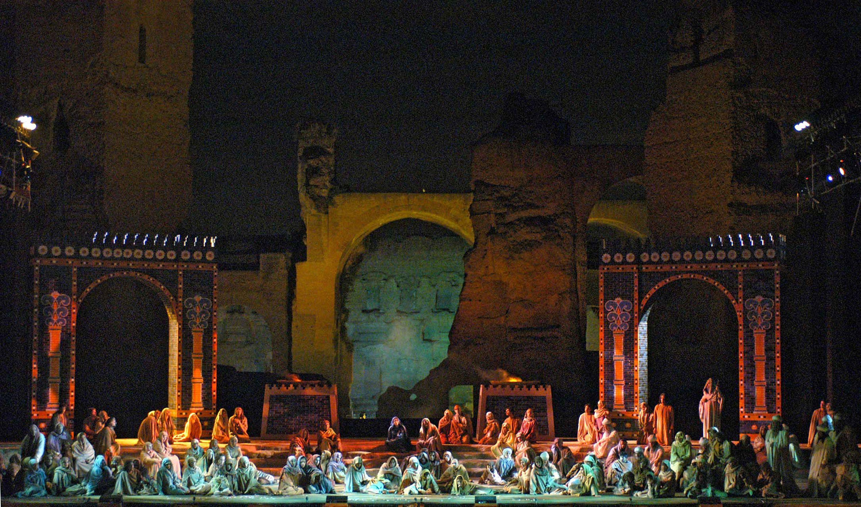 Summer opera at Baths of Caracalla