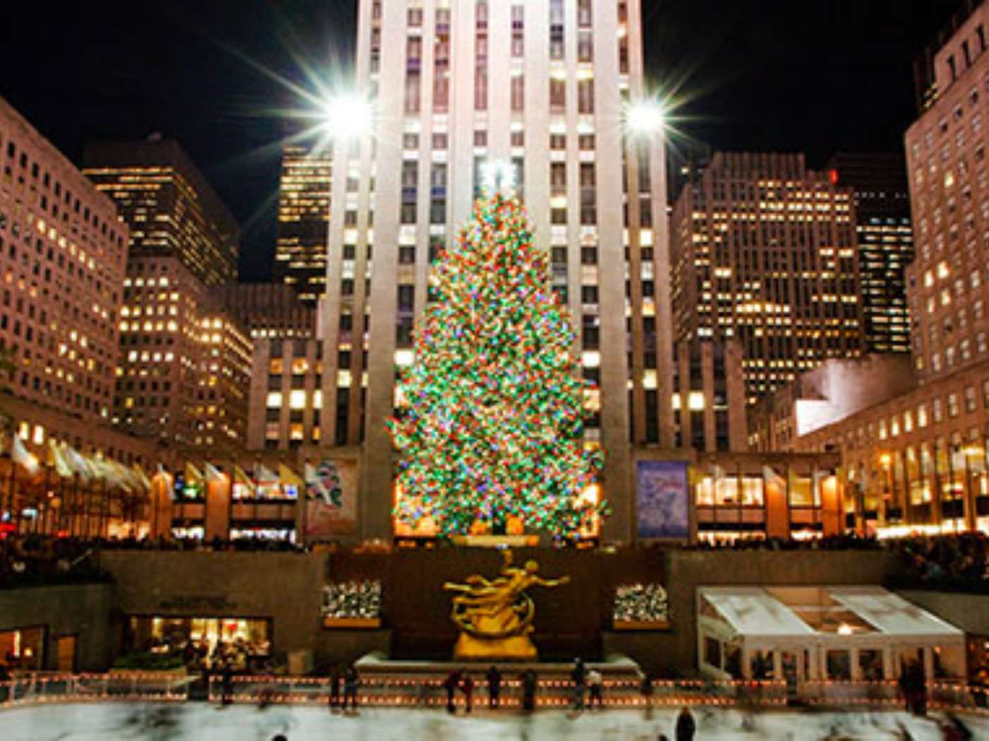 NYC Rockefeller Center at Christmas
