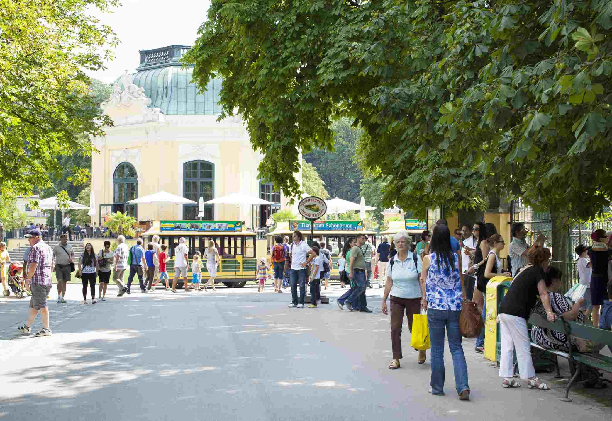 Zoológico Tiergarten Schonbrunn de Viena