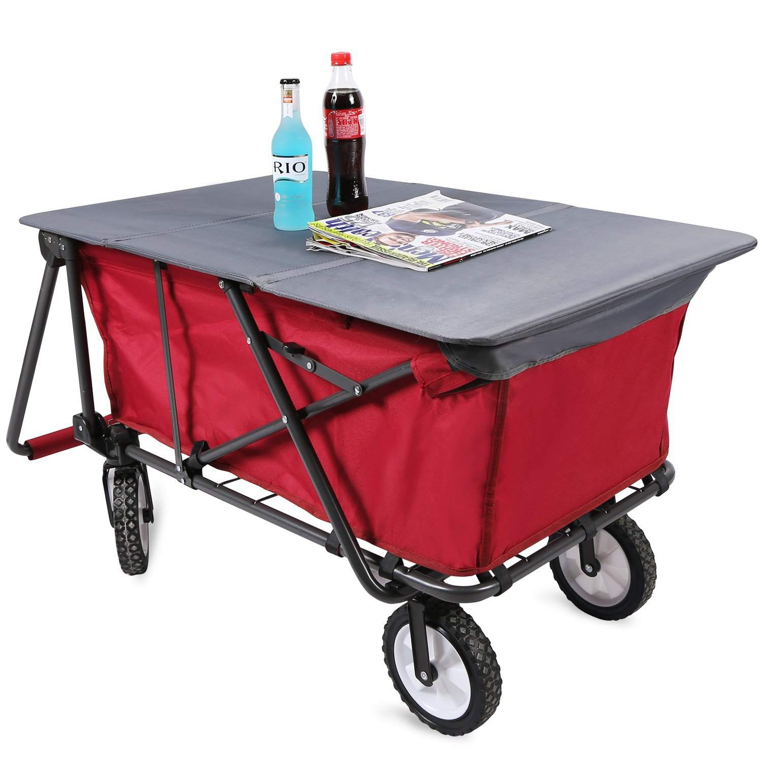 Best Overall Mac Sports Collapsible Folding Outdoor Utility Wagon