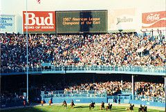1987 Tiger Stadium, Tigers Versus Blue Jays