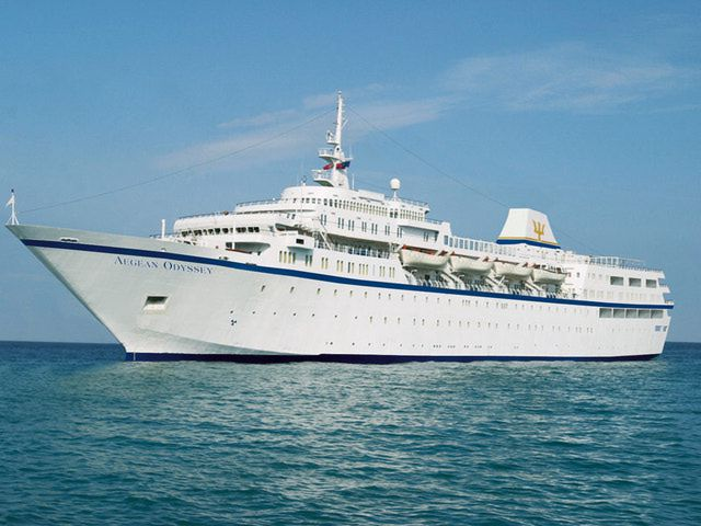 M/V Aegean Odyssey of Voyages to Antiquity