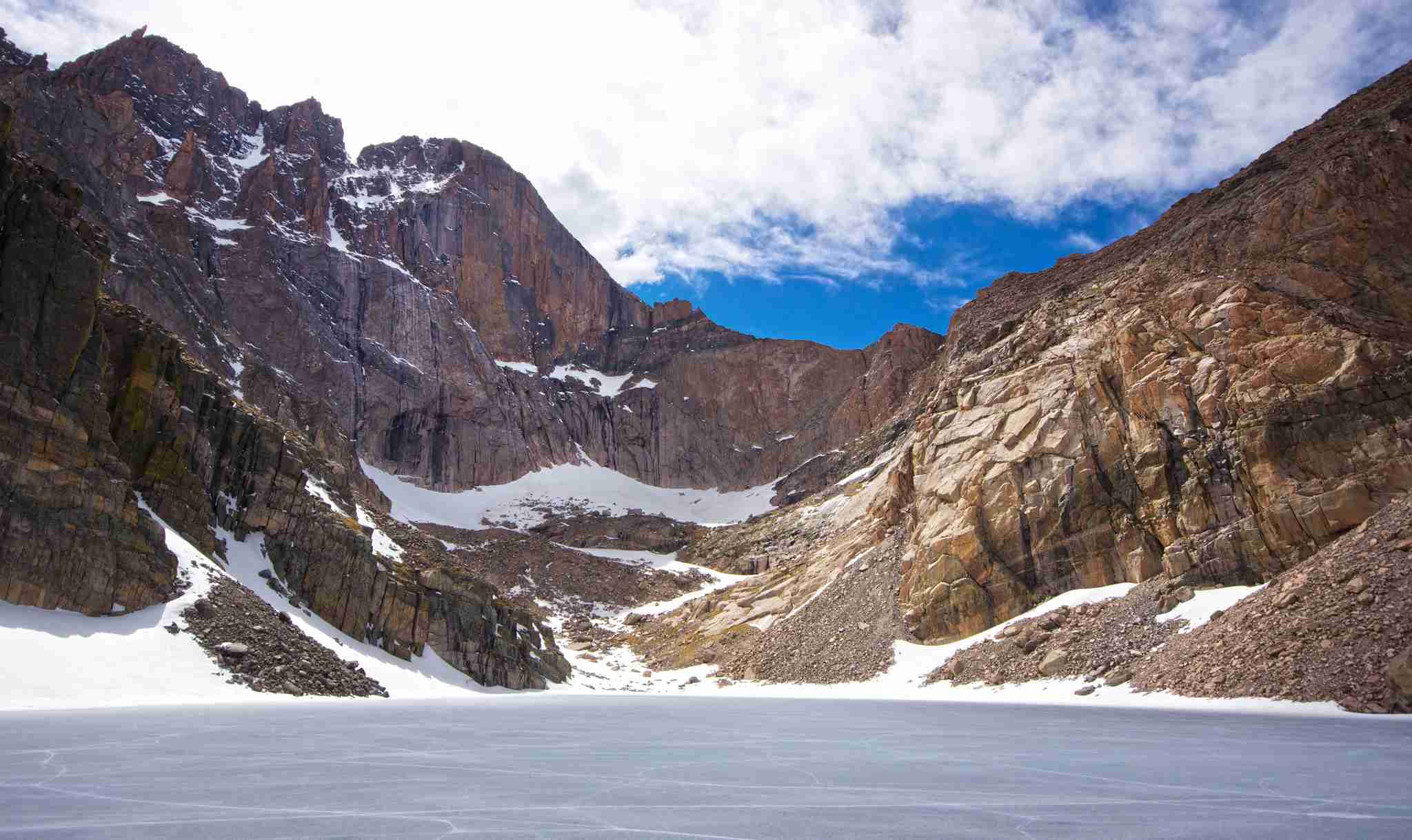 Chasm Lake and Longs Peak (Rocky Mountain National Park)