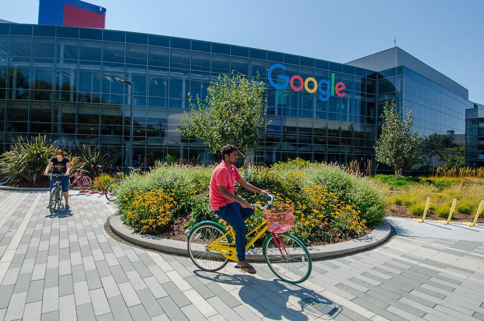 Google HQ Office in Mountain View, CA
