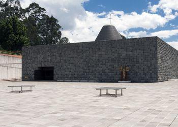 Museo Guayasamin museum in Quito, Ecuador