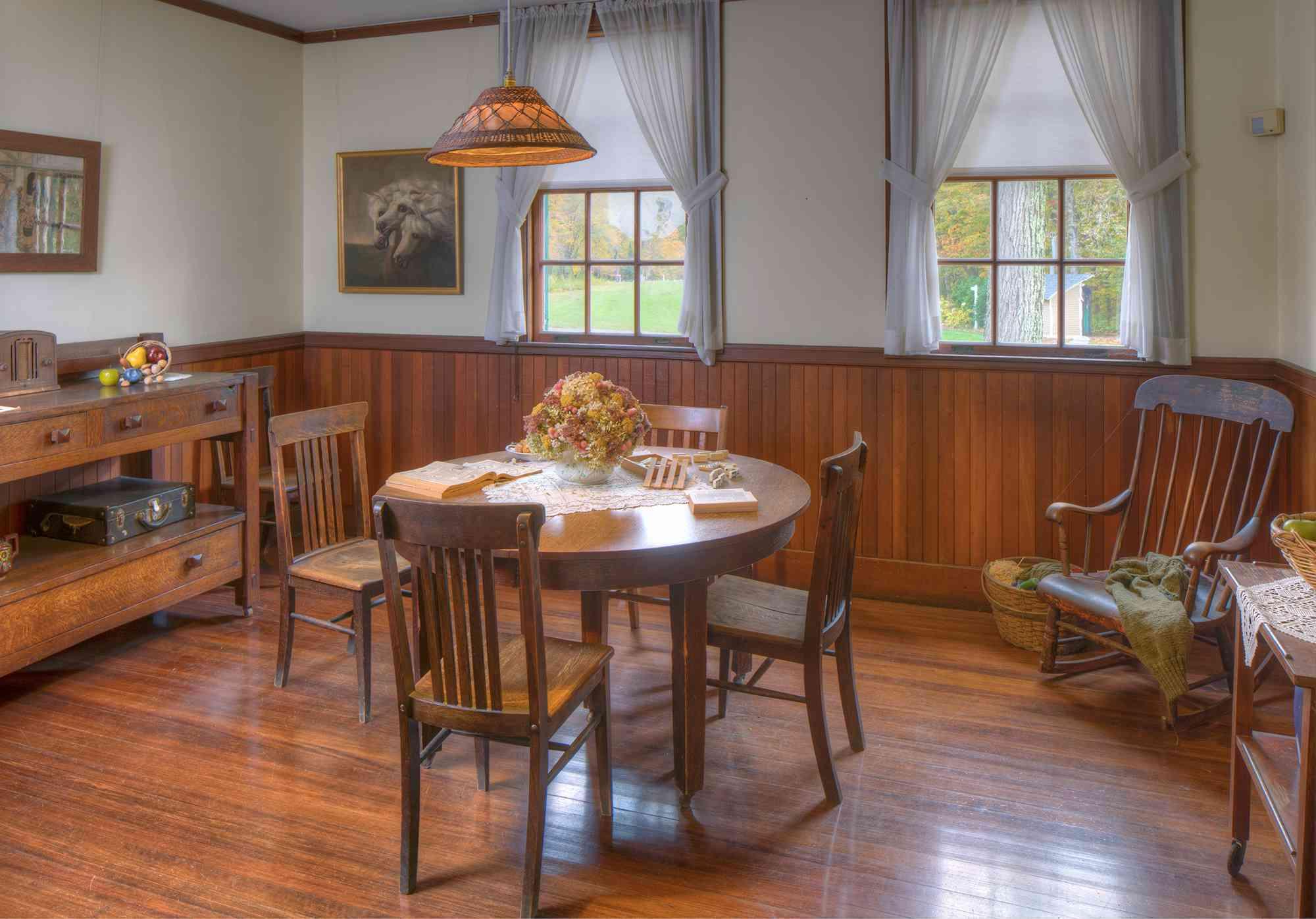 Interior of Hildene, The Lincoln Family Home