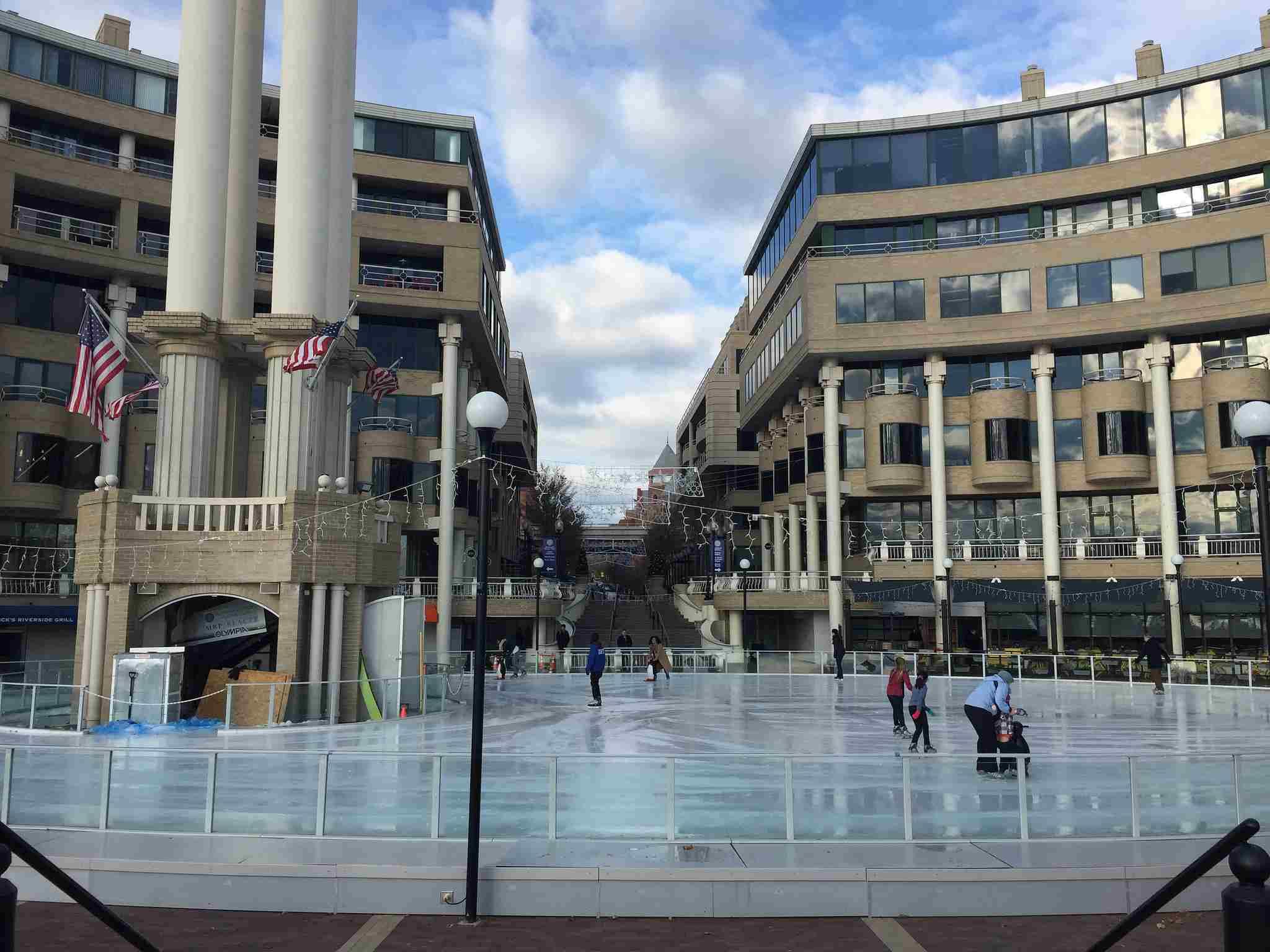 Ice Skating Georgetown