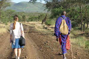 Walking safari with Maasai, northern Tanzania