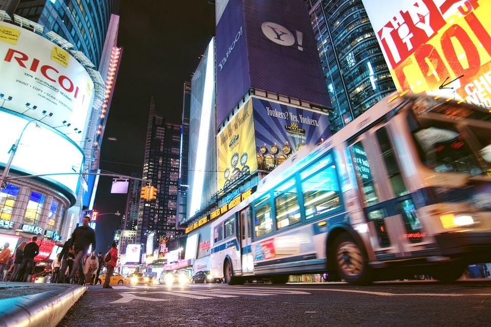 How to Get Around New York City by Bus