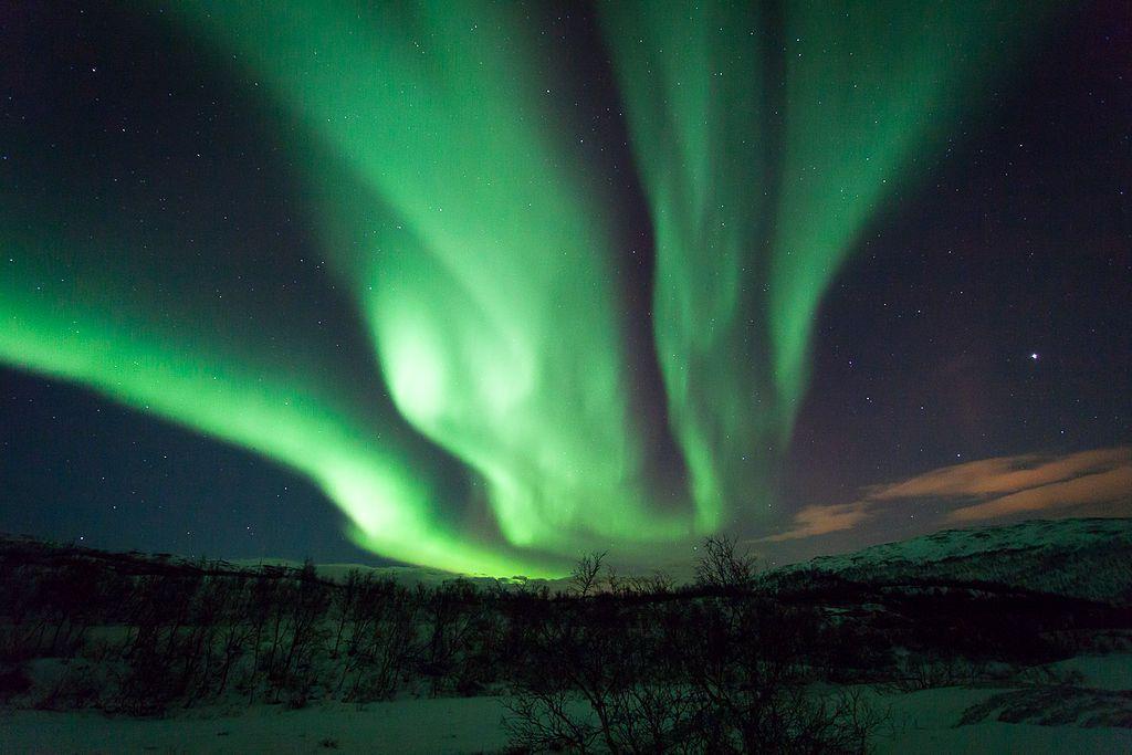 Northern Lights - Aurora Borealis Norway Ringvassøya Tromsø