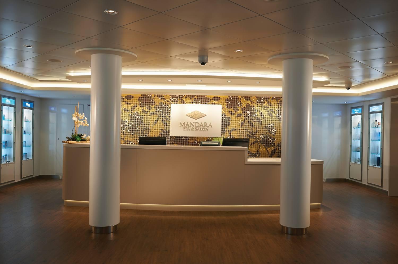 Mandara Spa on the Norwegian Getaway cruise ship