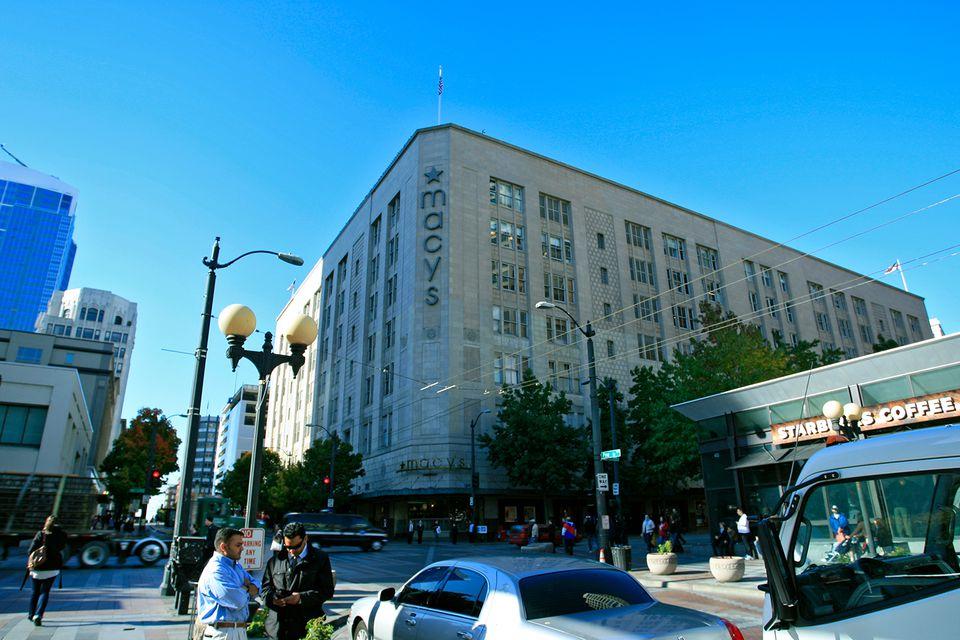 Seattle's Macy's store.