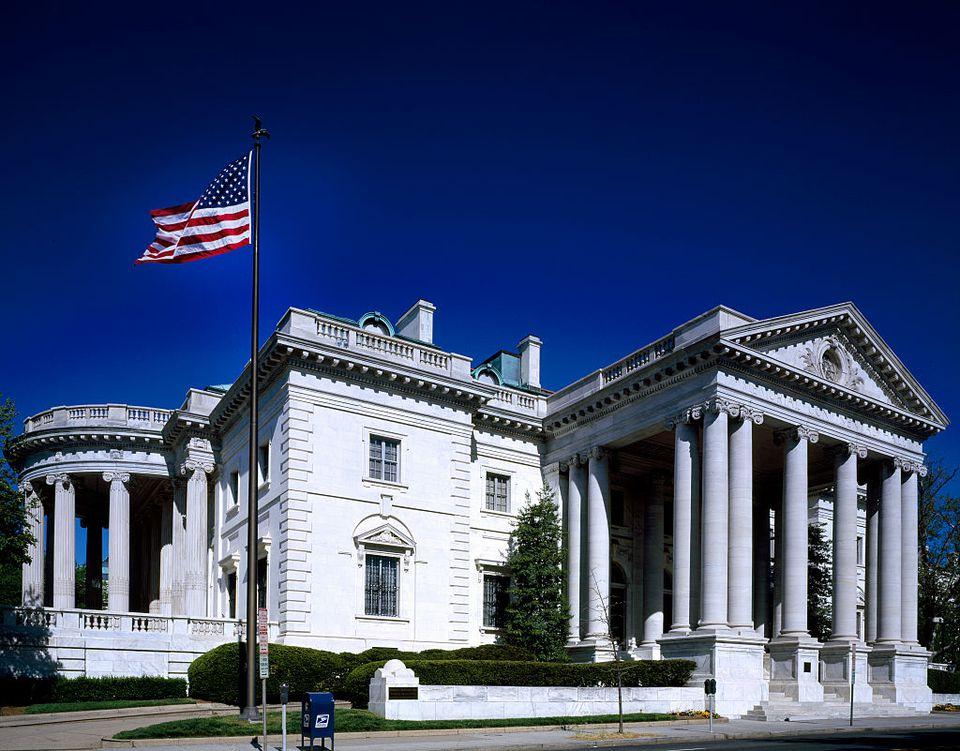 Edificio de la sede de las Hijas de la Revolución Americana, Washington, DC