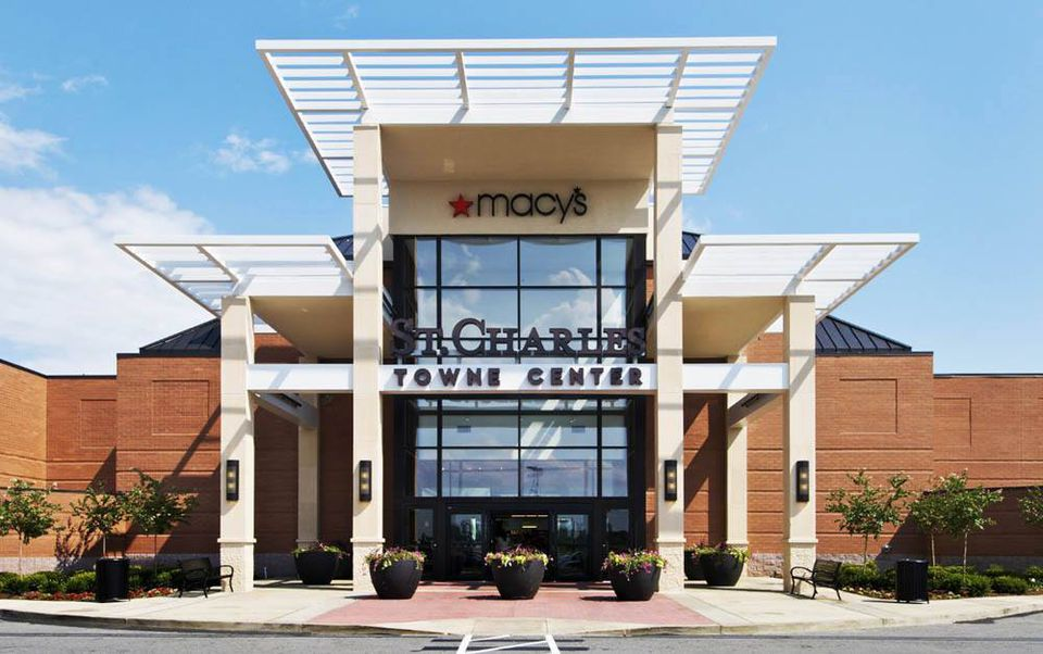 The Macy's Entrance at St. Charles Towne Center