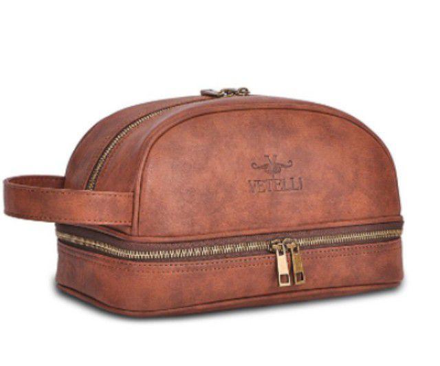 Best Vintage Bag  Vetelli Leather Toiletry Bag c5e586896d67d