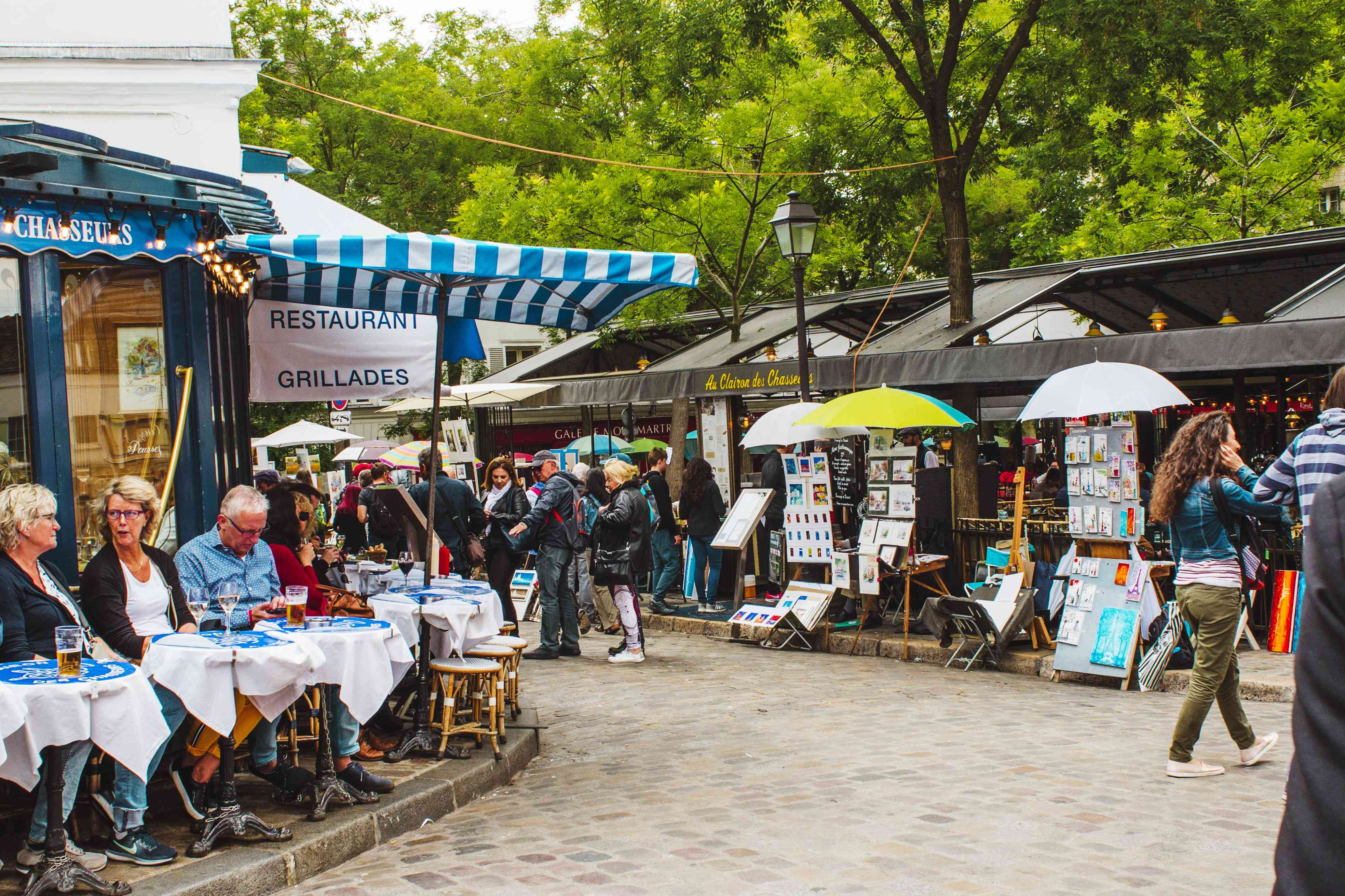 Square in Montmartre