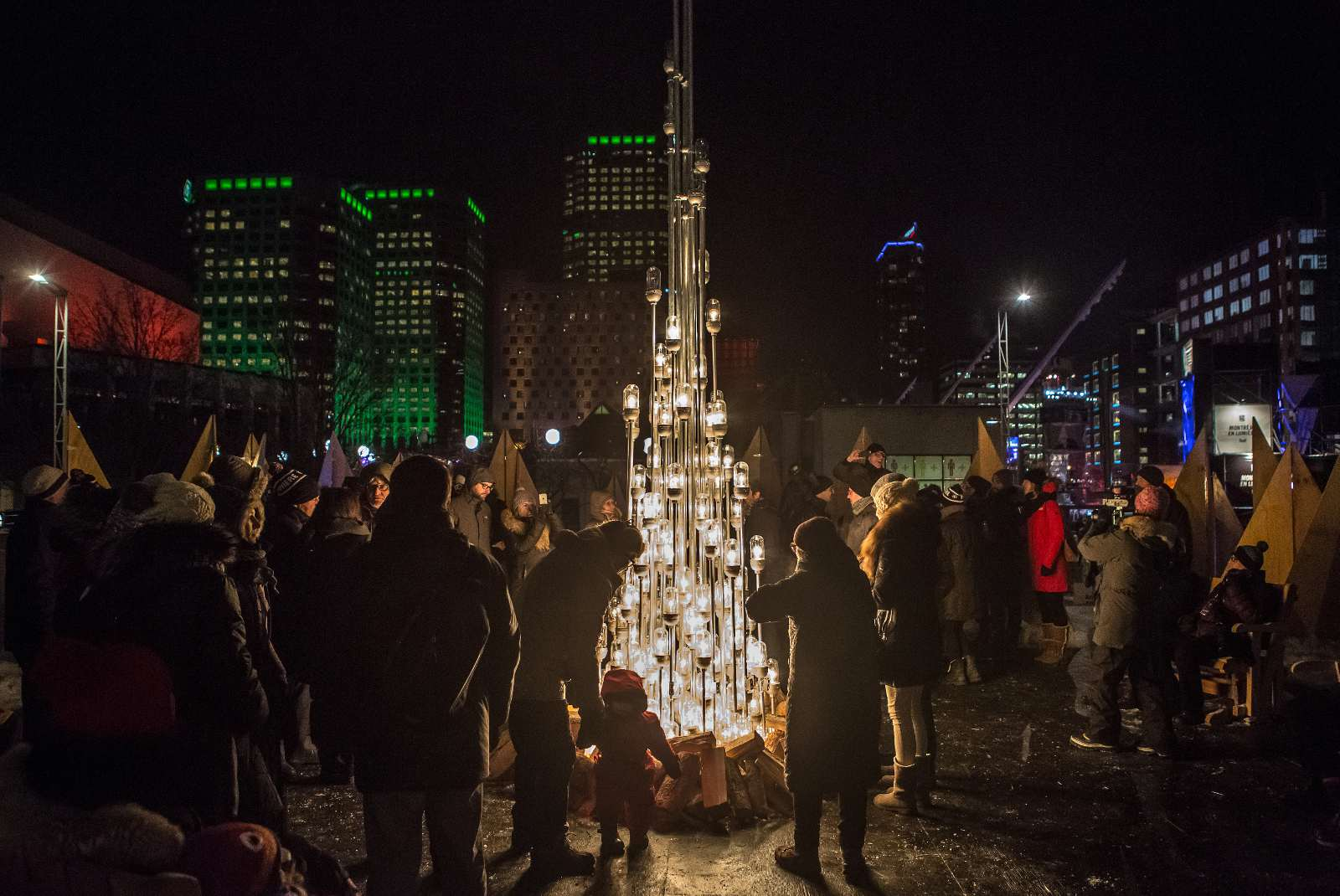 Montreal festivals in March 2017 include Nuit Blanche.