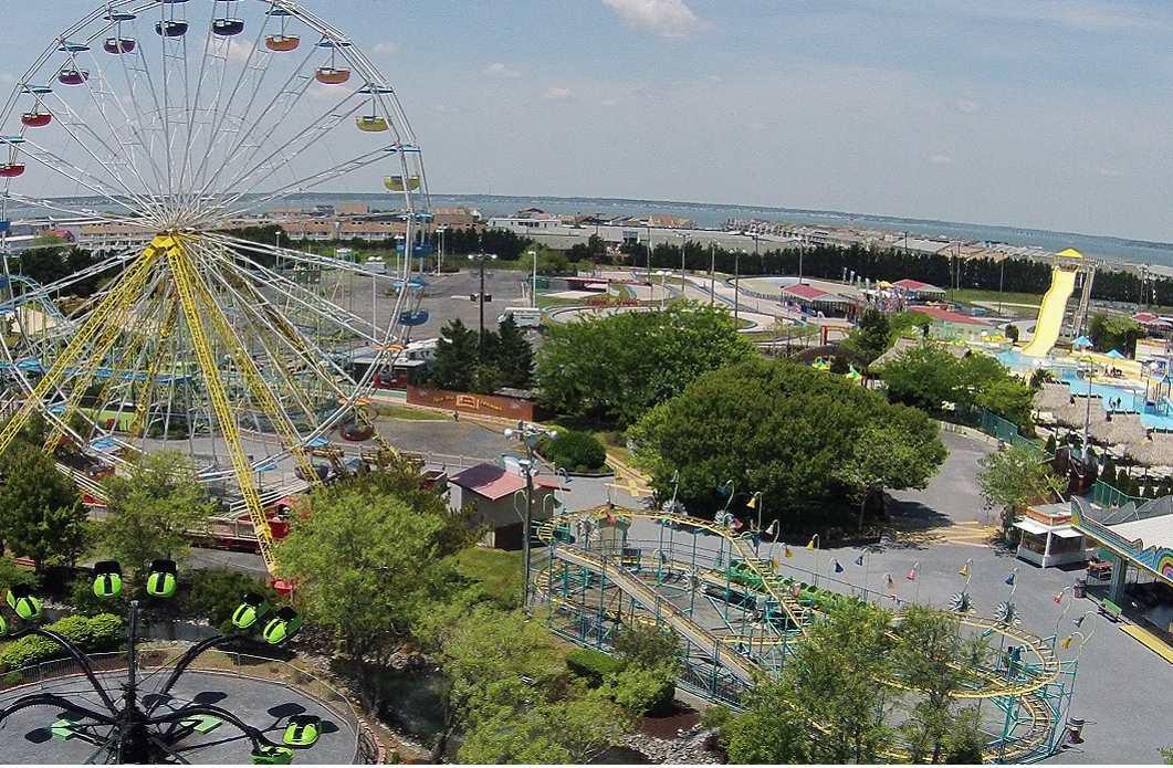 Jolly Roger Maryland amusement park