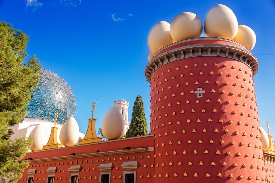 Dalí Theatre and Museum in Figueres