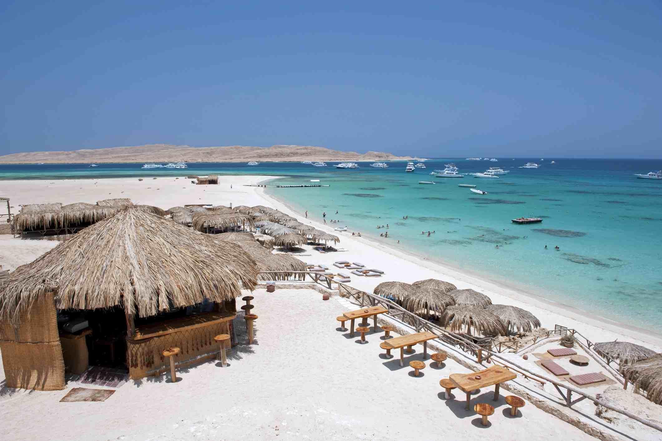 Giftun Island near Hurghada, Egypt