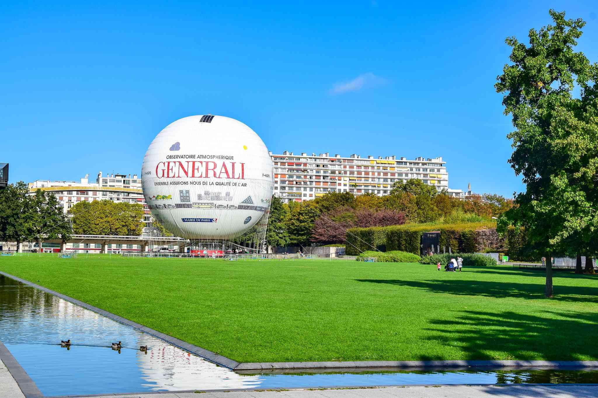 Parc André Citroën in Paris