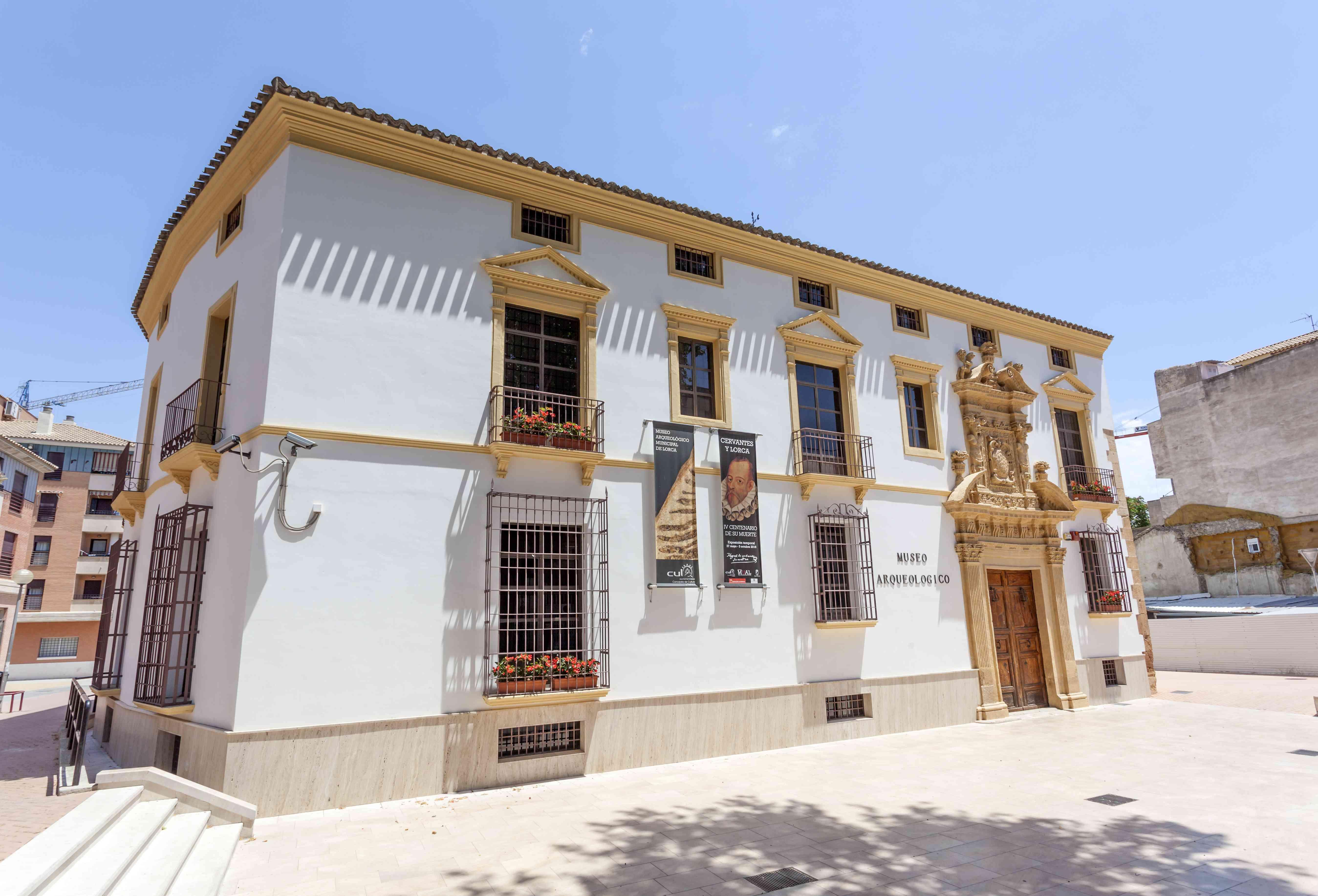 Archeological museum in Lorca, Spain