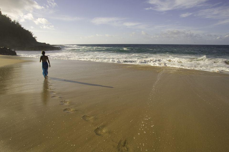 Driving tour of kauais north shore secret beach kauai hawaii solutioingenieria Image collections